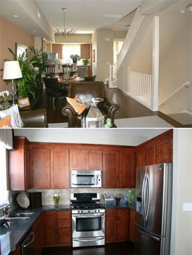 All of the Park Bayshore San Mateo homes for sale will have in suite washer and dryer.