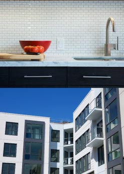 A great selection of one and two bedroom Union San Francisco loft apartments and two/three bed Union San Fran Townhouse floor plans are still available for purchase.