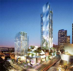 The downtown LA Grand Condo High-Rise Tower is a significant addition to the presale Los Angeles real estate market